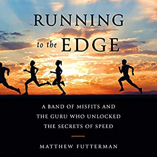 Running to the Edge audiobook cover art