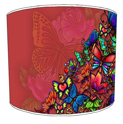 30cm retro butterfly drum lampekaps Voor een plafondlamp