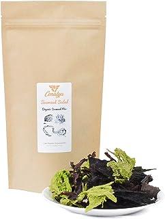 CENALGA Organic Irish Seaweed Salad Fusion - Dulse, Sugar Kelp, Sea Lettuce, Wakame - 1.5 oz / 42.5 g We avoid Plastic Pou...
