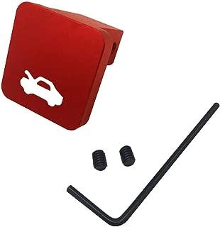 Billet Aluminum Hood Latch Release Handle Cable Repair Kit for Honda CIVIC 96-2005 CRV 97-2006 Element 03-2011 (Red)