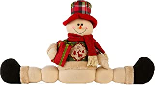 Tamquer Decorative Door Stopper Snowman/Santa Claus Home Decoration Xmas Gift Khaki Decorative Door Stopper Available in Many Styles
