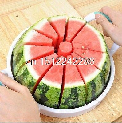 facile fruits Pastèque trancheuse Cutter en acier inoxydable Éplucheur ustensile de cuisine