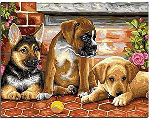 GHYU Puzzle de Madera Puzzle de Perro de Madera de 1000 Piezas para Adultos Puzzle difícil y desafiante