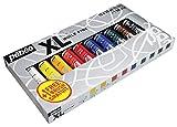 Pebeo Studio XL - Kit de pinturas al óleo con pincel (10 unidades x 20 ml cada una; 200 ml), varios colores