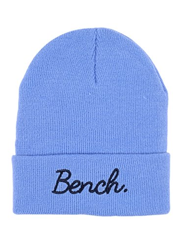 Bench Mädchen TURN UP BEANIE Mütze, Blau (Cornflower Blue Bl076), M/L