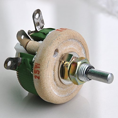Electronics-Salon 25W 500 OHM High Power Wirewound Potentiometer, Rheostat, Variable Resistor.