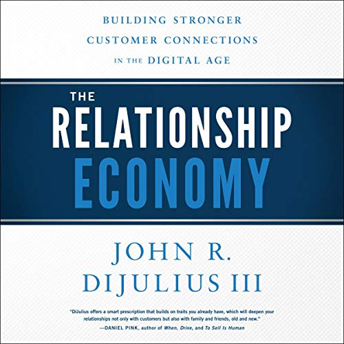 The Relationship Economy audiobook cover art
