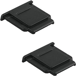 JJC Tapa de Zapata para Cámaras Sony Alpha A7 A6500 A6400 A6000 NEX-6 RX1 RX1R RX1RII RX10 RX10II RX10III etc. Reemplaza a Sony FA-SHC1M (Lote de 2)