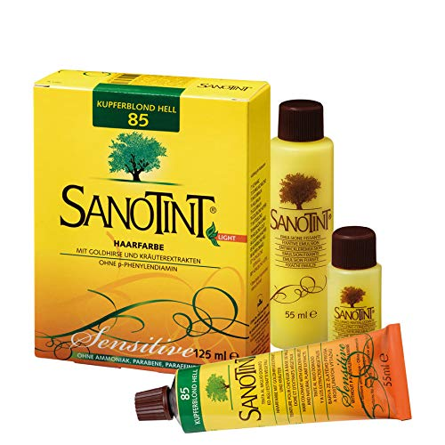 SANOTINT® Haarfarbe sensitive ?light? Nr. 85 ?Kupferblond Hell? (125 ml)
