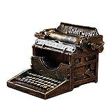 LY88 Retro Vintage Modelo de máquina de Escribir País Americano Decoración Creativa Café Bar Tienda de Ropa Adorno Decoraciones para el hogar Adorno Figuras Regalo DIY