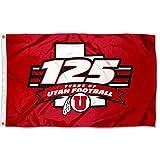 College Flags & Banners Co. Utah Utes 125 Football Seasons Flag