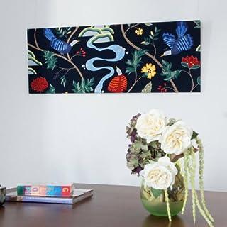 ファブリックアートパネル ボラスコットン/boras cotton BIRDLAND/NABY 1360×500mm