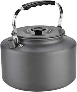 Portable Camping Outdoor 2L Water Kettle Teapot Coffee Pot Set 17.318.5cm