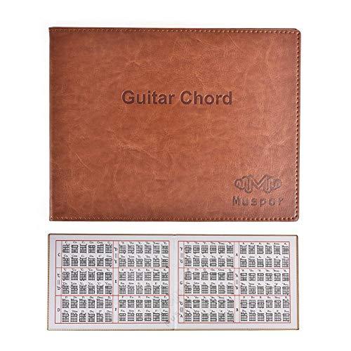 duhe189014 Mapa de acordes de Guitarra para Guitarra eléctrica Tradicional Guitarra clásica Guitarra clásica de 6 Cuerdas Libro de acordes de Libro de Bolsillo Espectro