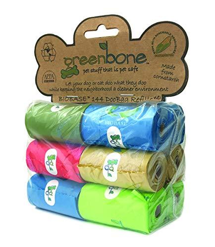 Greenbone Waste Bag Refill Pack, 12 Rolls