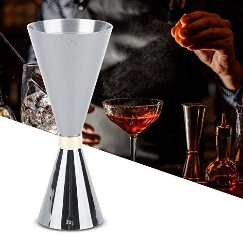 Eastbuy Cocktail Jigger - 30ml/60ml Lebensmittel-Grad-Edelstahl,Barmaß Messbecher aus Edelstahl Dual für Bar Party Gin Wein Cocktail