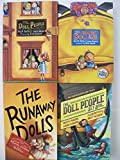 Doll People Series (Set of 4) Doll People, Meanest Doll in the World, Runaway Dolls, Doll People Set Sail