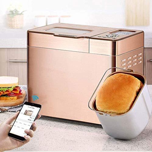 BBYT Multifuncional Máquina para Hacer Pan con Dispensador automático de levadura, Dispensador de Frutos Secos, Programable, Configuración sin Gluten