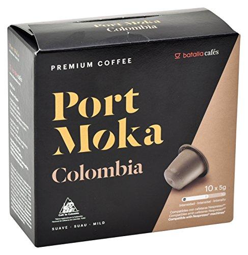 Port Moka Cápsulas de Café Colombia Compatibles con...