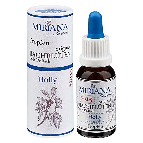 MirianaFlowers Holly 20ml Bachblüten Stockbottle