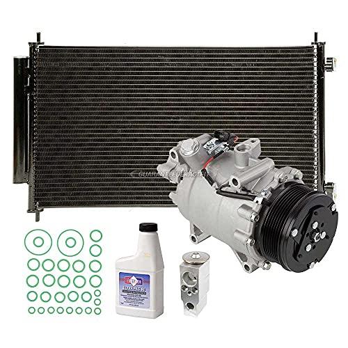 A/C Kit w/AC Compressor Condenser & Drier For Honda CR-V 2007 2008 2009 2010 2011 - BuyAutoParts 60-82560R6 New