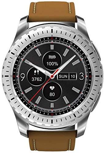 QTQZDD geschenken voor mannen Smart Watch KW28 ondersteuning sim/TF-kaart smartwatch fitness tracker hartslagmeter klok voor Android iOS Phone 1 1