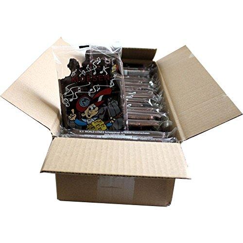 Moesen Gaufre Choco 20 x 75g Packung mit 1 Produkt pro Stück (Schokoladenwaffel)