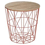 Paris Prix Atmosphera Créateur d'intérieur - Table d'Appoint Design Kumi 41cm Terracotta