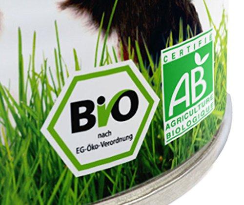 YARRAH Bio Katzenfutter Pate mit Huhn 400 g, 12er Pack (12 x 400 g) - 4