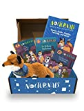The Nocturnals Grow & Read Activity Box: Early Readers, Plush Toy, and Activity Book - Level 1–3 (The Nocturnals Activity Box Series, 2)