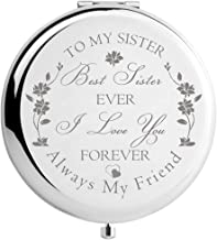Sister Birthday Gift Unique, Sister Gifts from Sister Brother Wedding Mothers Day Christmas, Graduation Present for Her (Best Sister Ever)