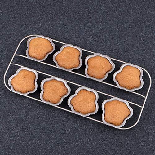 Dessin animé Gâteau Moule Four Accueil Creative 8 Moule Continu Antiadhésif Outils en Acier Au Carbone Abrasif en Acier Au Carbone Matériel (Couleur:A)