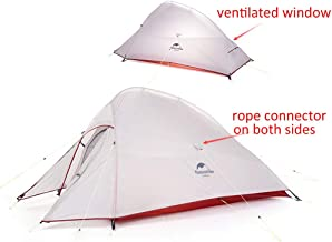 Naturehike Cloud-up 2 Ultralight Camping Tent voor 2 Personen - Waterdichte Dubbellaags Backpacking Tent 4 Seizoenen