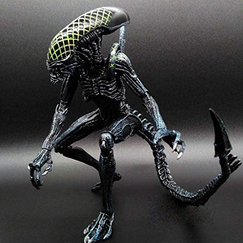 Leileixiao Alien Figura: 7 Pollici Figura di Azione Scala Corolla Alien da Collezione for Appassionati da Aliens Aliens Vs Predator