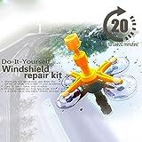 Mixen Car Windshield Repair Kit Professional Windshield Repair Tools Car Crack Kit Car