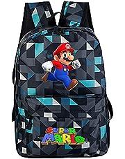 Schooltas Super Mario Nieuwe Schooltassen Super Mario Printing Rugzakken Mode Kinderen Mochila Casual Mario Schoudertassen Jongens Dagelijkse Rugzakken