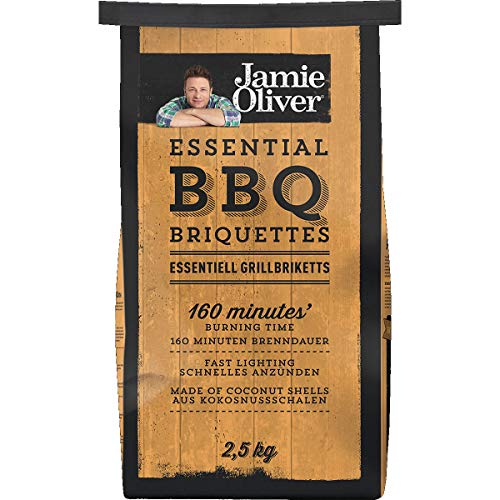 charcoal Jamie Oliver Essential Coconut BBQ Briquettes 2.5kg