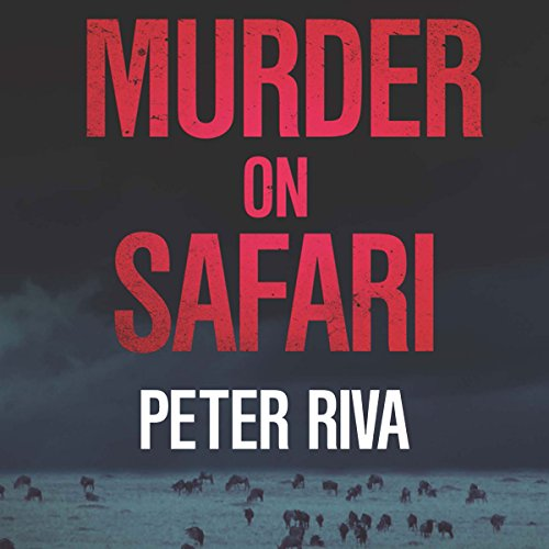 Murder on Safari audiobook cover art
