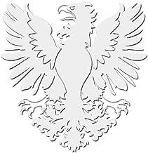 Milk Mug Designs Prussian Eagle Decal Sticker - White 5