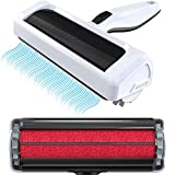 Mozy Roller Pro Dog Hair Remover and Cat Hair Remover – Quickly Removes Pet Hair from Furniture – Easier to Use Than Vacuums, Brushes, Gloves, and Sticky Lint Rollers