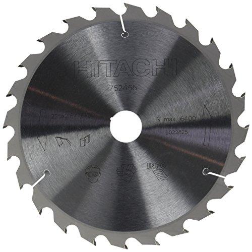 Hitachi 752455 Disco sierra circular ingletadora 235x2,6x1,6