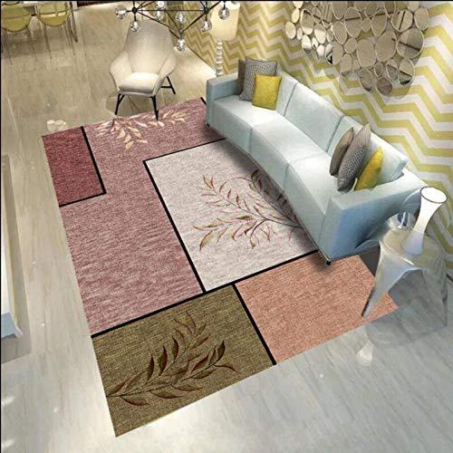 DJUX Alfombra mullida,Alfombra de Piel sintética,universales alfombras de Varios tamaños utilizadas en pbedroom, Sala de Estar,Silla o sofá,160x230cm