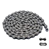 Bike Chain 6/7/8-Speed,Bicycle Chain 1/2x3/32 Inch,Special Steel for Road Mountain Racing Cycling (116 Links)