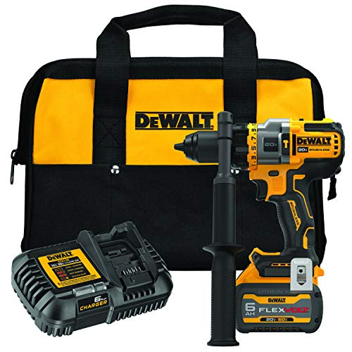 DEWALT DCD999T1 20V MAX 1/2 in. Brushless Cordless Hammer Drill/Driver with FLEXVOLT ADVANTAGE Kit