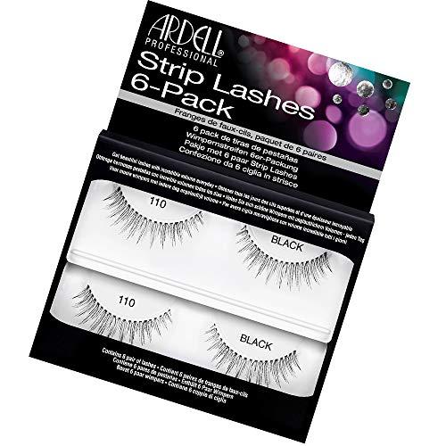 Ardell Natural 110 Black Strip False Eyelashes, 1 pack (6 pairs per...