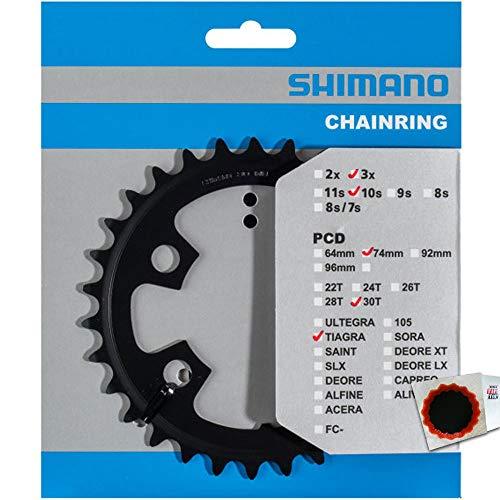 SHIMANO Kettenblätter TIAGRA FC-4703 30 Zähne MM 74mm Stahl schwarz Fahrrad