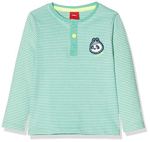 s.Oliver Junior 405.10.002.12.130.2020094 T-Shirt, Baby - Jungen, Grün 86 EU
