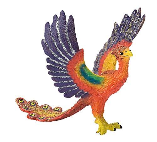Bullyland 75541 - Spielfigur, Phönix, ca. 11,5 cm groß, liebevoll handbemalte Figur, PVC-frei, tolles Geschenk für Jungen und Mädchen zum fantasievollen Spielen
