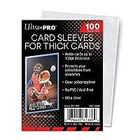【ウルトラプロ UltraPro 収集用品】 カードスリーブ 130PT 5mm厚まで対応 (#81380)