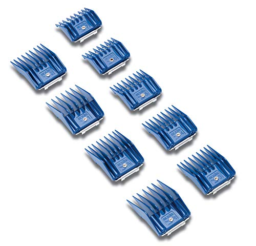 Andis Small Pet Clipper Combs 9 Piece Set